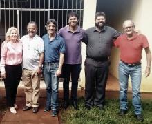Visita do Conselho de Ação Social ao SAMMAAR