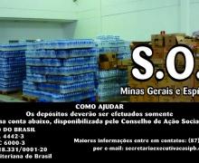 Visita do Conselho de Ação Social a cidade de Mariana - MG