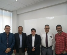 Posse e Reunião da Nova diretoria do CAS 2018/22